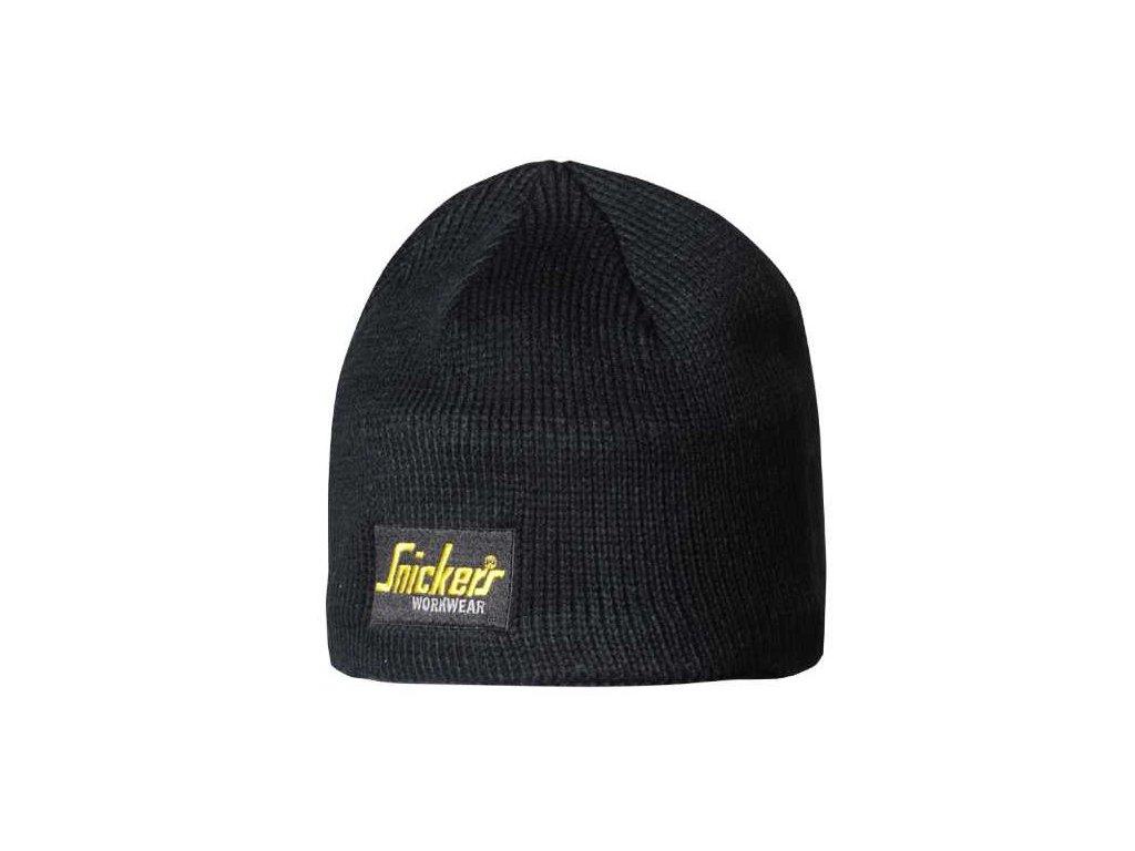 BEANIE pletená čepice černá (Velikost/varianta UNI)