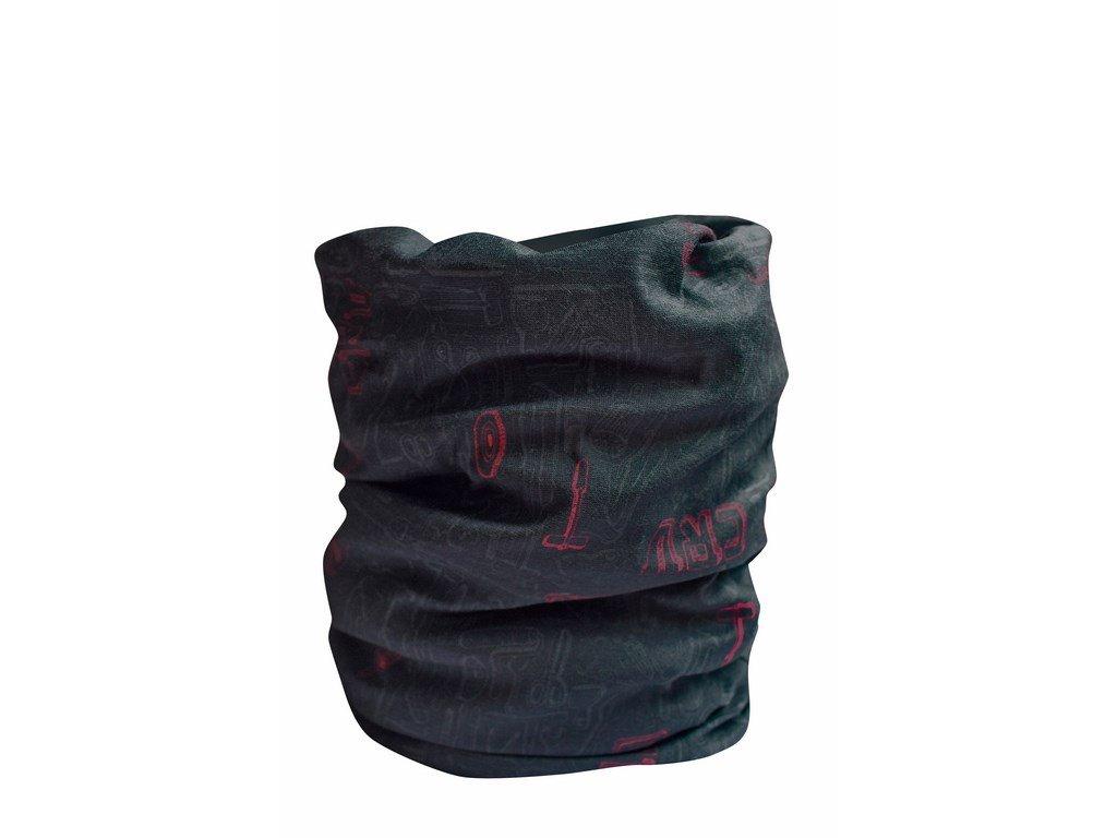 CLIFF multifunkční šátek černý (Velikost/varianta UNI)