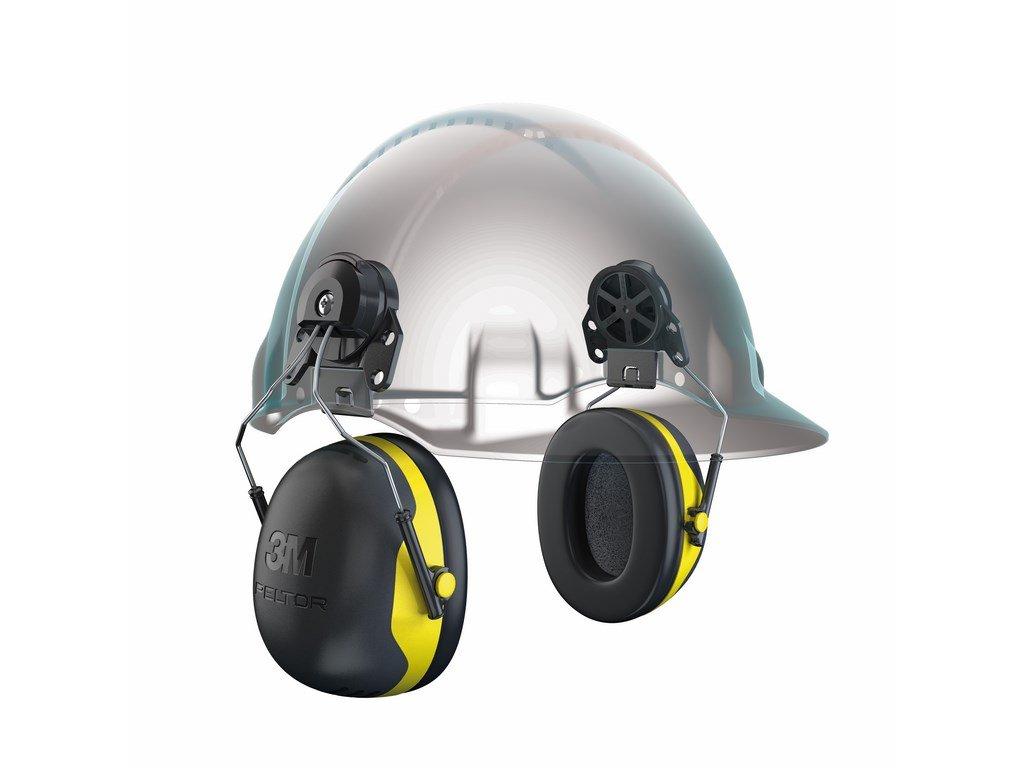 3M PELTOR X2P3 mušlové chrániče sluchu na přilbu (Velikost/varianta UNI)