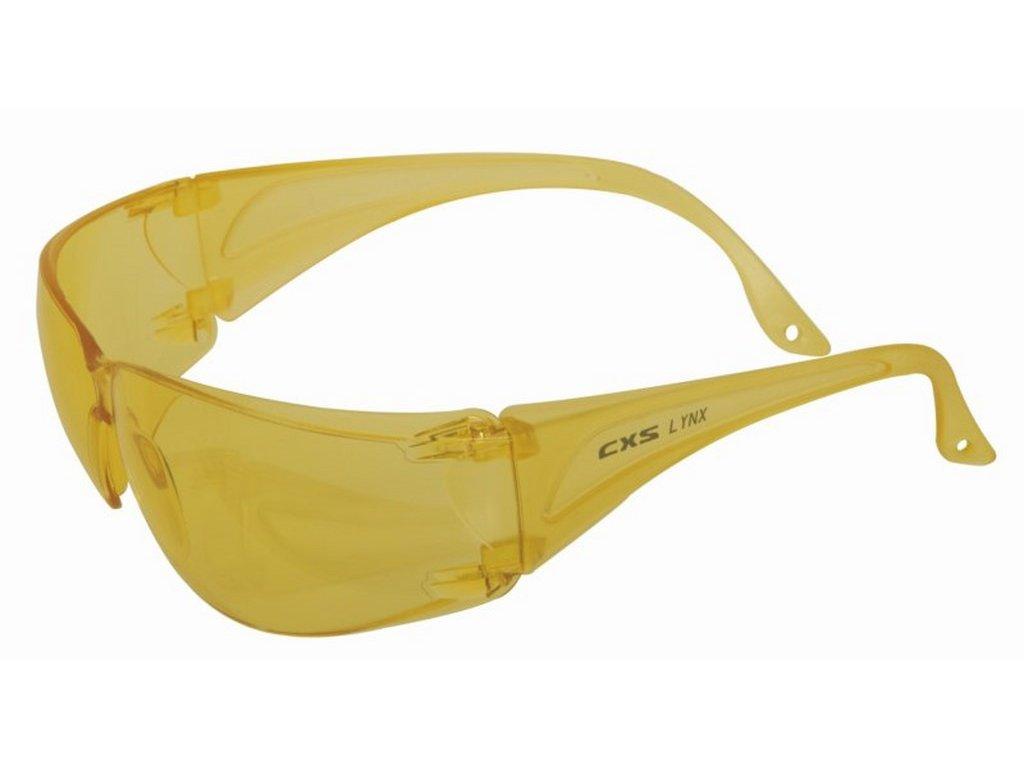 Canis CXS Lynx brýle žluté ultralehké (Velikost/varianta UNI)