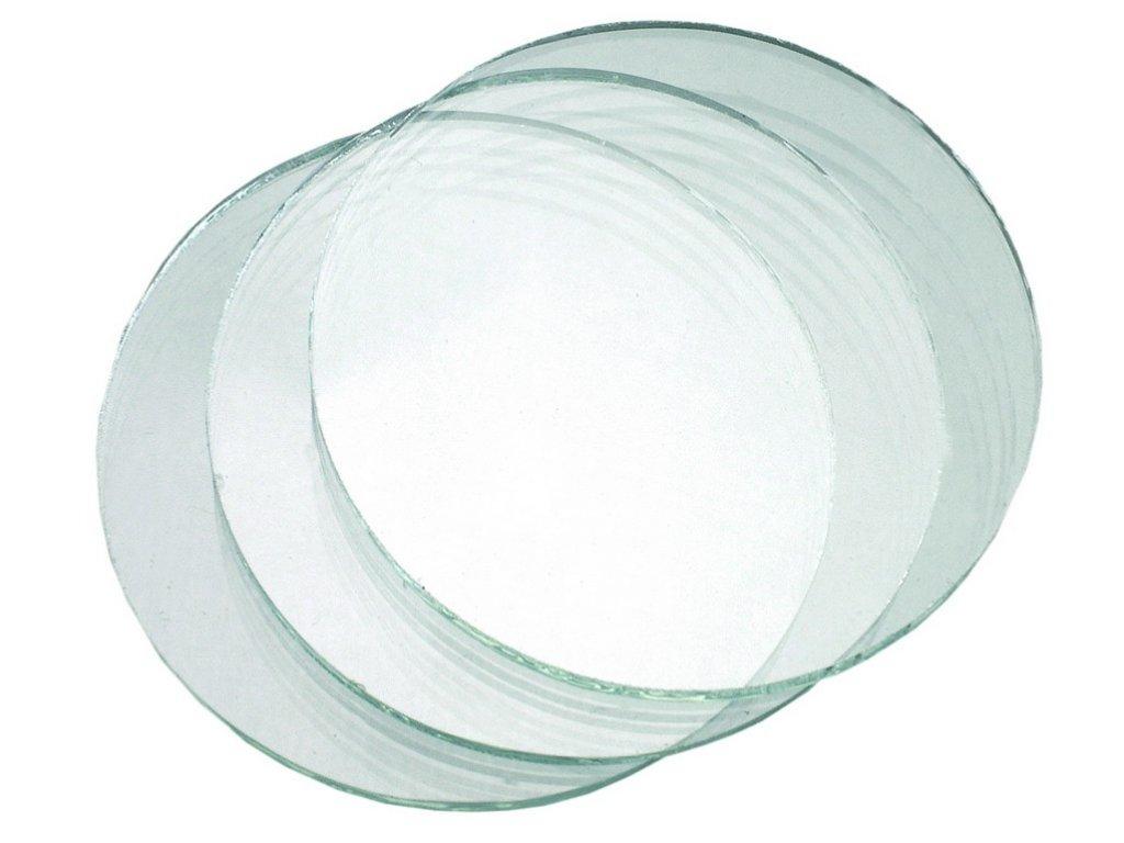 Sklo do svářečských brýlí, průměr 50 mm (Velikost/varianta UNI)
