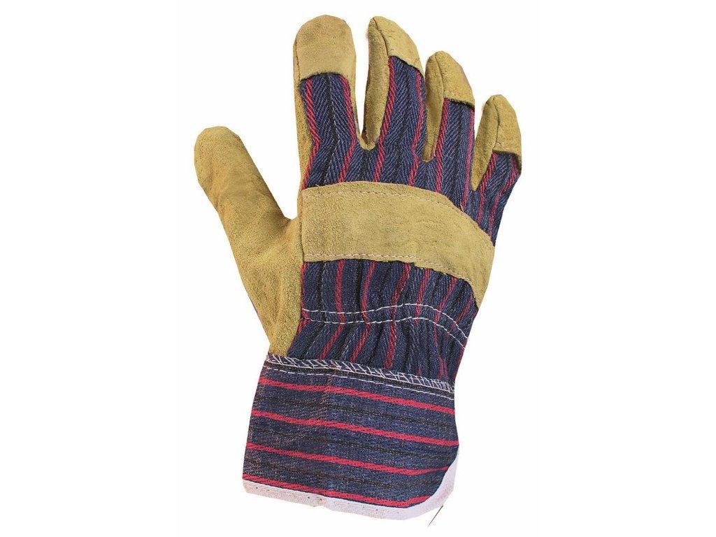 ZORO rukavice hov.štípenka žlutá (Velikost/varianta 12)