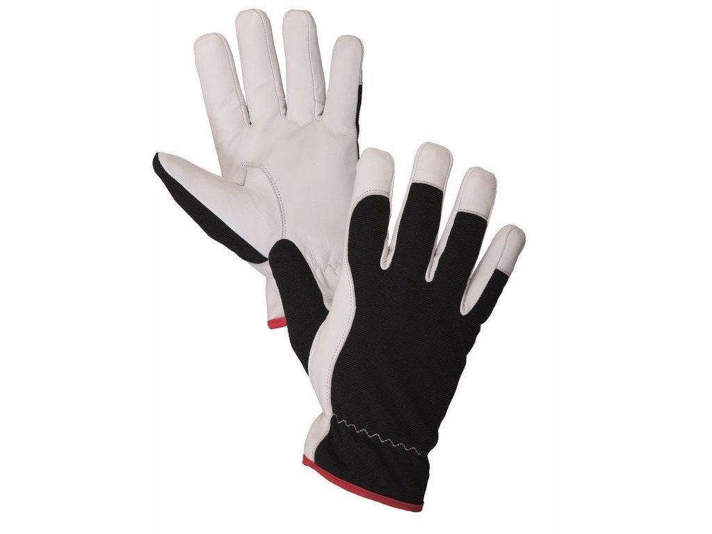 TECHNIK WINTER rukavice kozinková lícovka černá (Velikost/varianta 10)