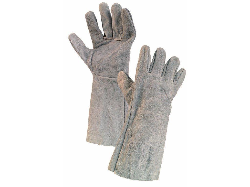 SYRO rukavice svářecí hov.štípenka šedé (Velikost/varianta 11)
