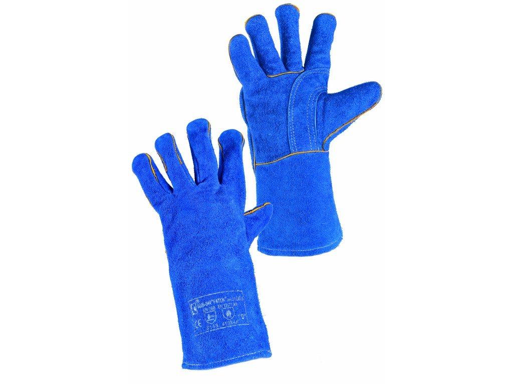 PATON rukavice svářecíhov štípenka modrá (Velikost/varianta 11)