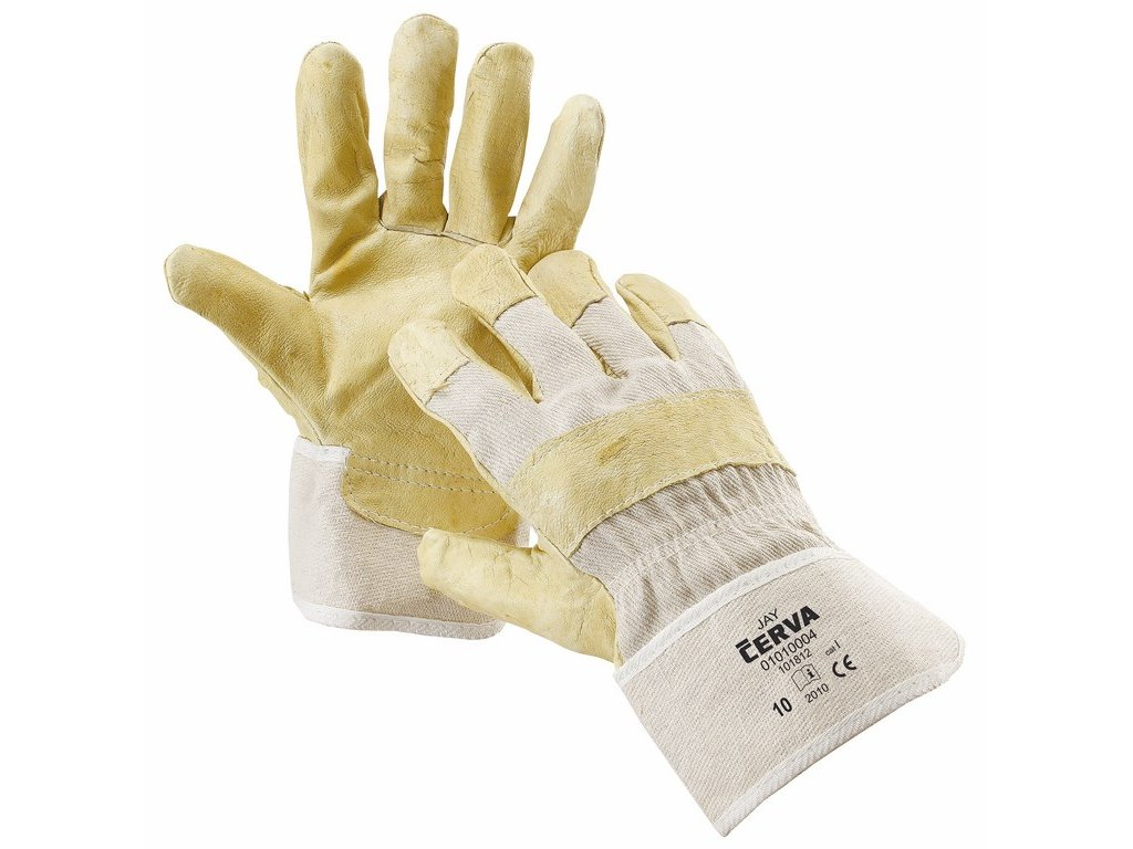 JAY rukavice z vepř. štípenky a bavlněné tkaniny (Velikost/varianta 11)