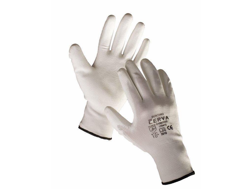 BUNTING rukavice nylon máčené v PU (Velikost/varianta 11)