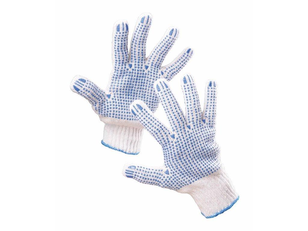 HS-04-011 rukavice bezešvé byvlna polyester (Velikost/varianta 10)
