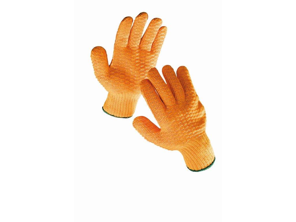 FALCON  rukavice nylon PE a polymerní mřížka (Velikost/varianta 10)