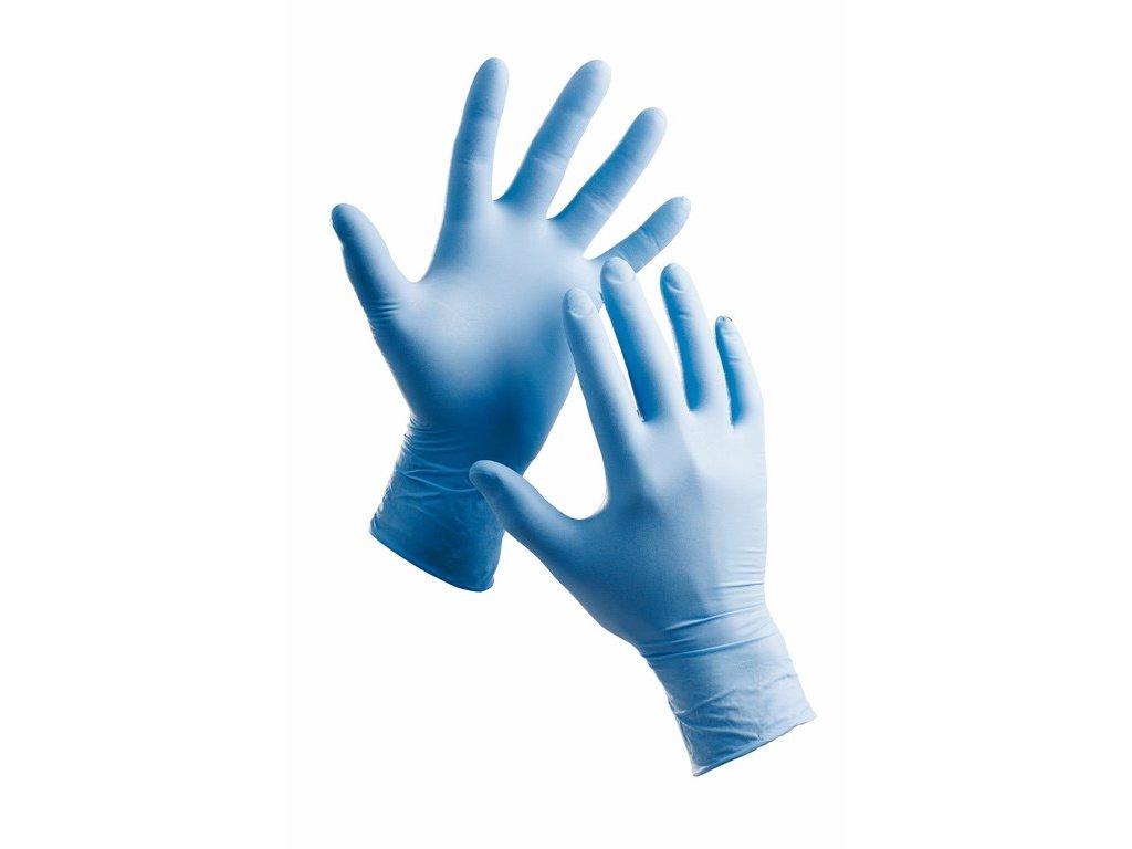 BARBARY rukavice jendorázové nitrilové pudr. (Velikost/varianta 10)