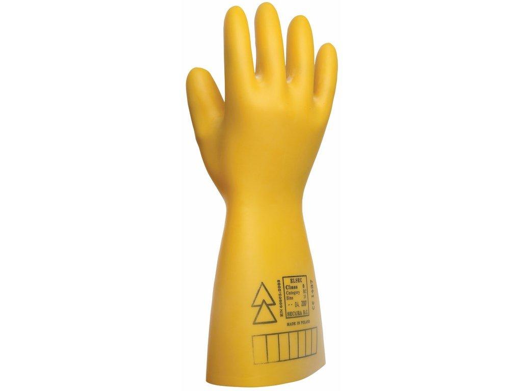 ELSEC rukavice dielektrické 7500 V (Velikost/varianta 11)