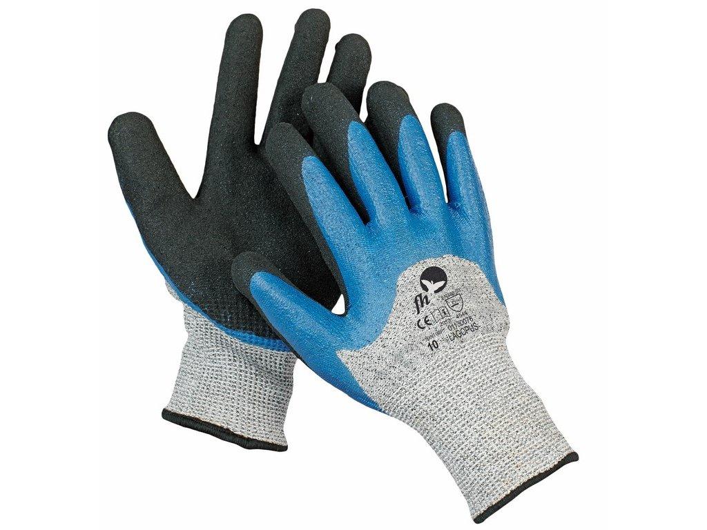 LAGOPUS rukavice máčené v nitrilu (Velikost/varianta 10)