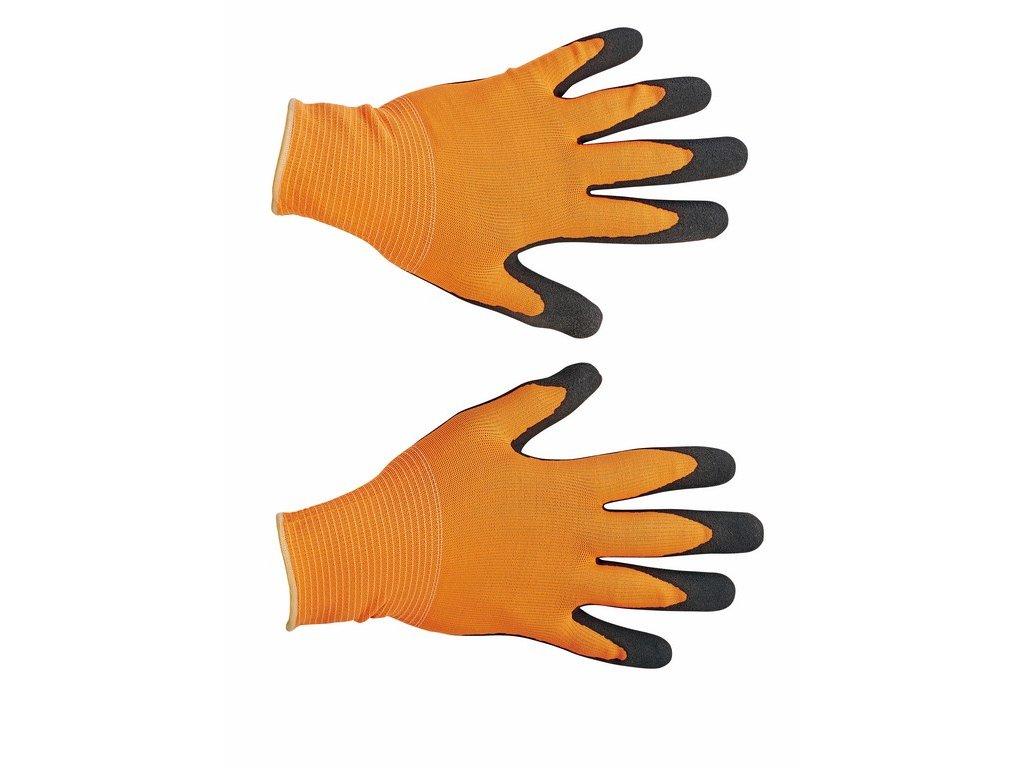 BUBO rukavice máčené v latexu (Velikost/varianta 10)