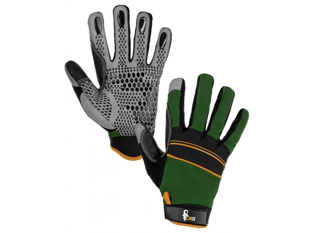 Canis CXS CARAZ kombinované pracovně-sportovní rukavice (Velikost/varianta 10)
