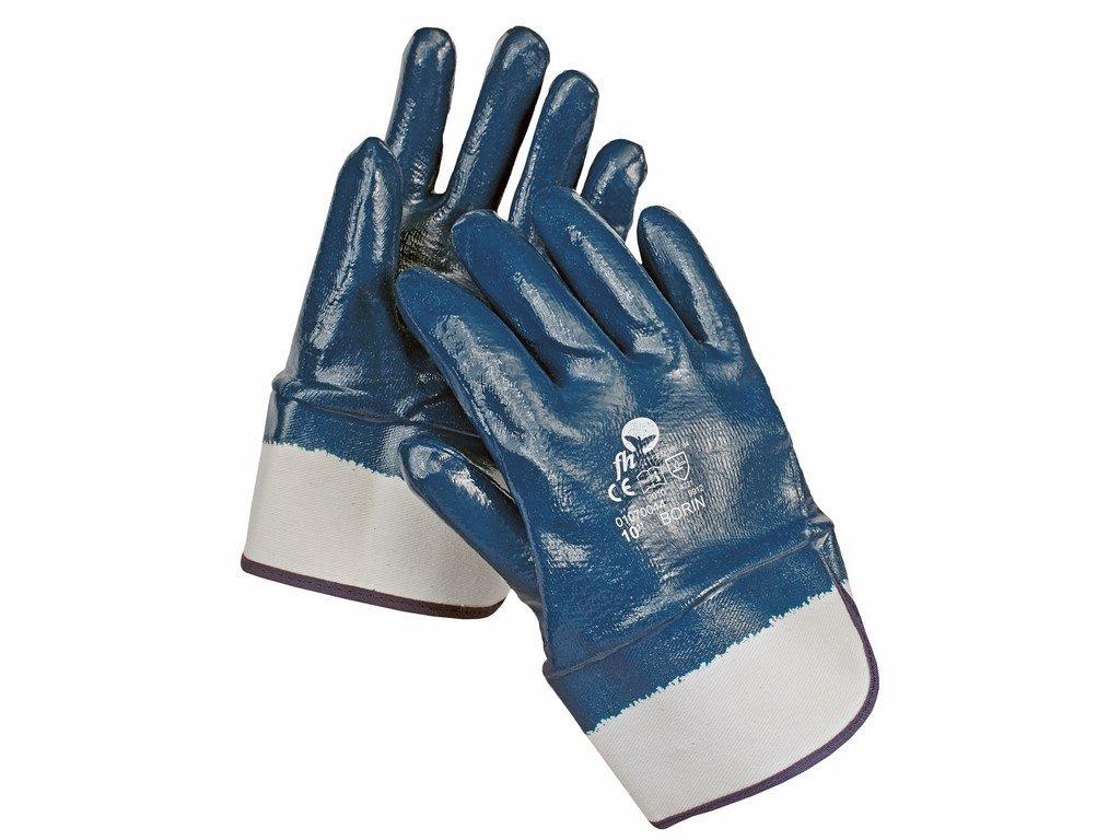 BORIN rukavice celomáčené v nitrilu (Velikost/varianta 11)