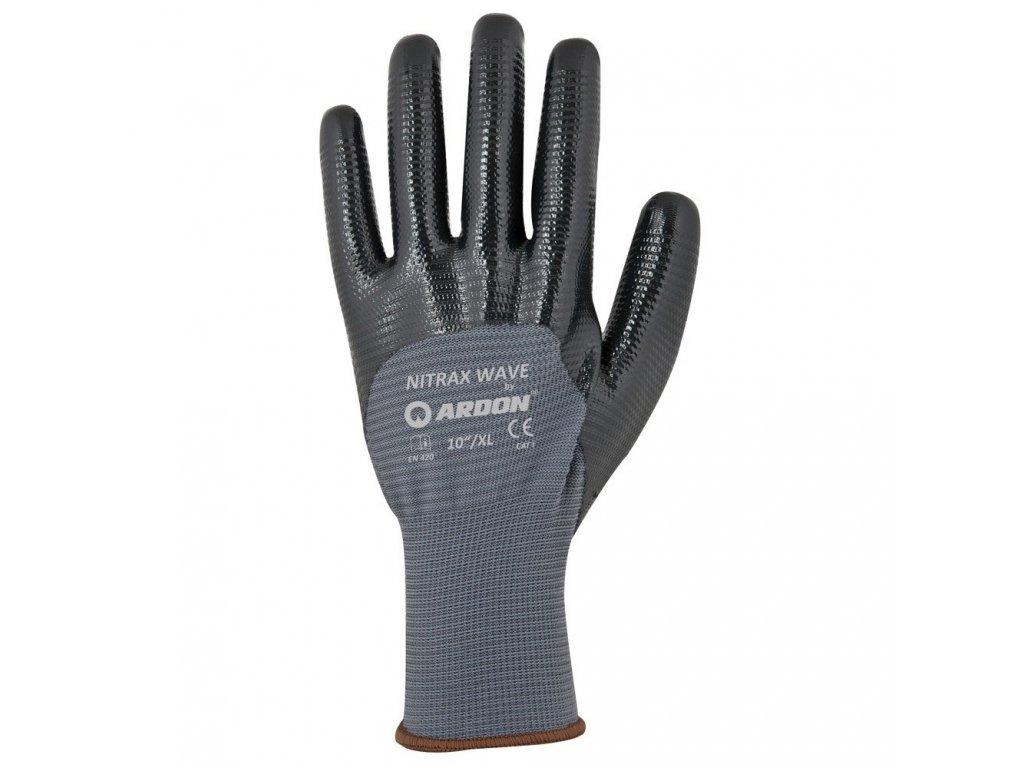 NITRAX WAVE pracovní rukavice povrstvené (Velikost/varianta 10)