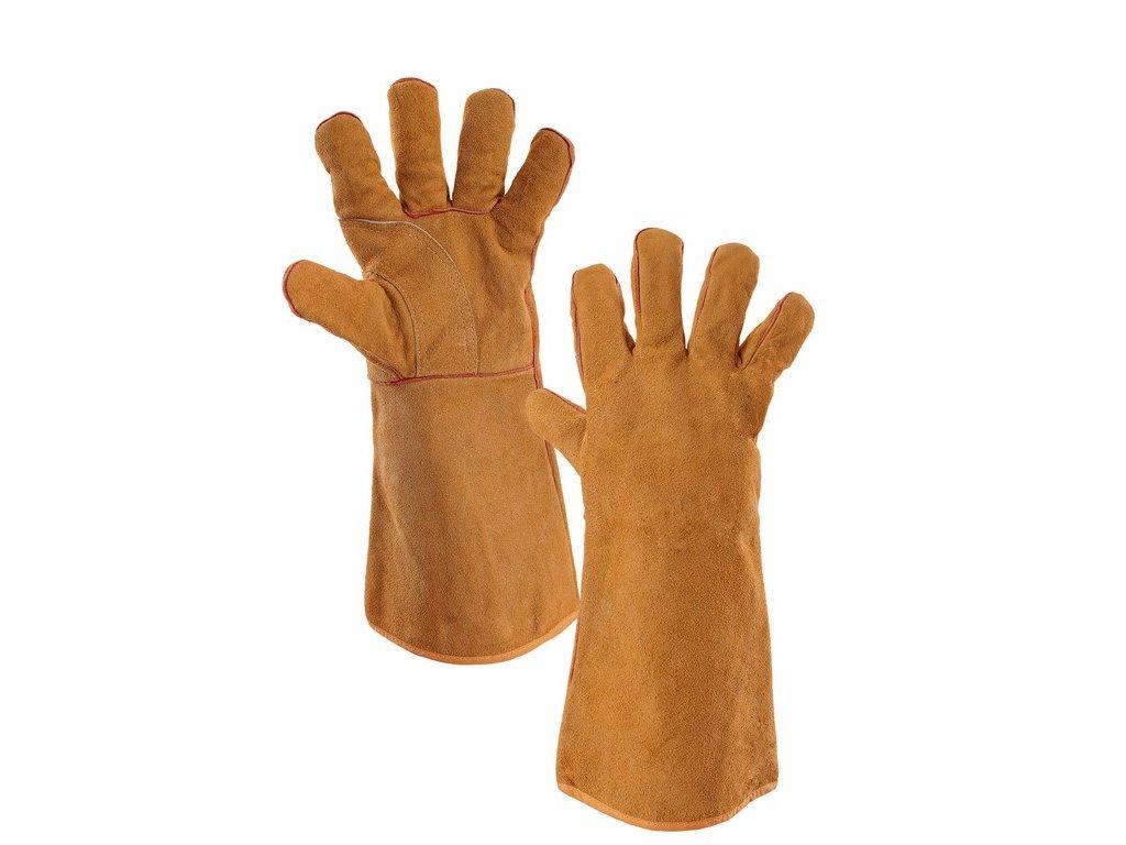 AMON rukavice svářecí z hovězinové štípenky (Velikost/varianta 11)