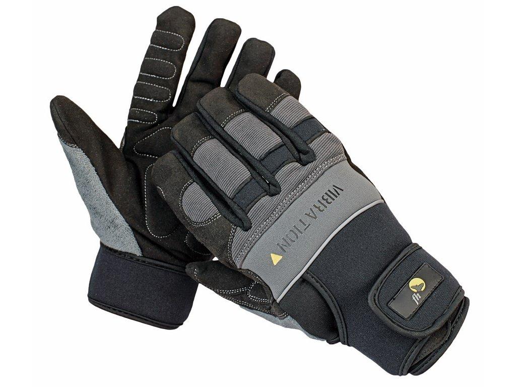 NIGRA rukavice antivibrační černá (Velikost/varianta 10)