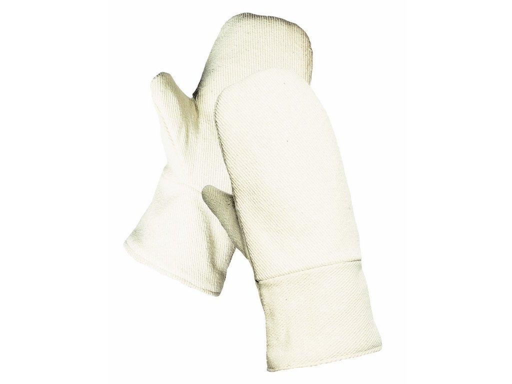 PARROT palcové dvouvrstvé tepluodolné rukavice žluté (Velikost/varianta UNI)