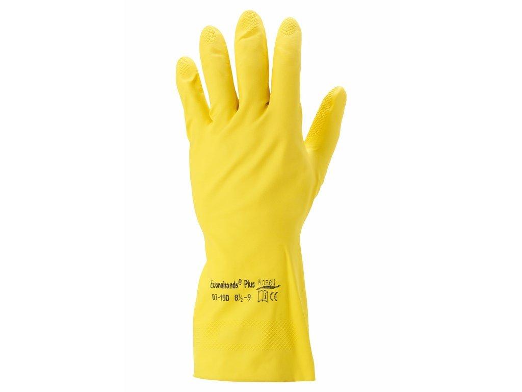 ECONOHANDS PLUS úklidové rukavice (Velikost/varianta 10)