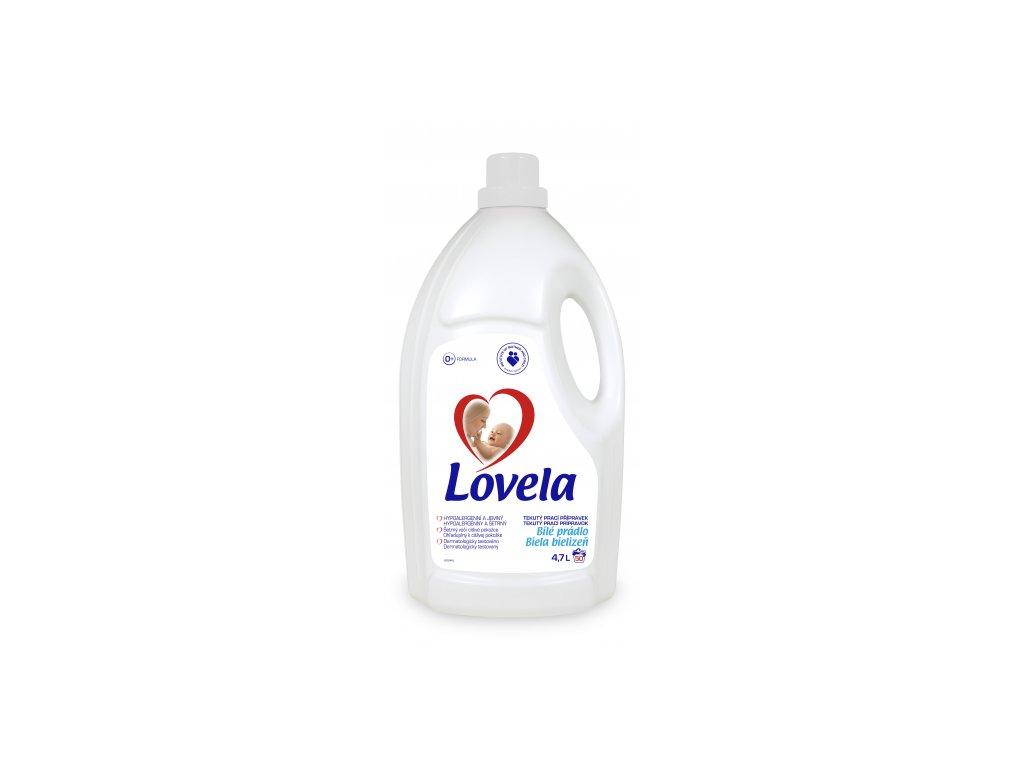 LOVELA prací gel bílá 4,7l (Velikost/varianta UNI)