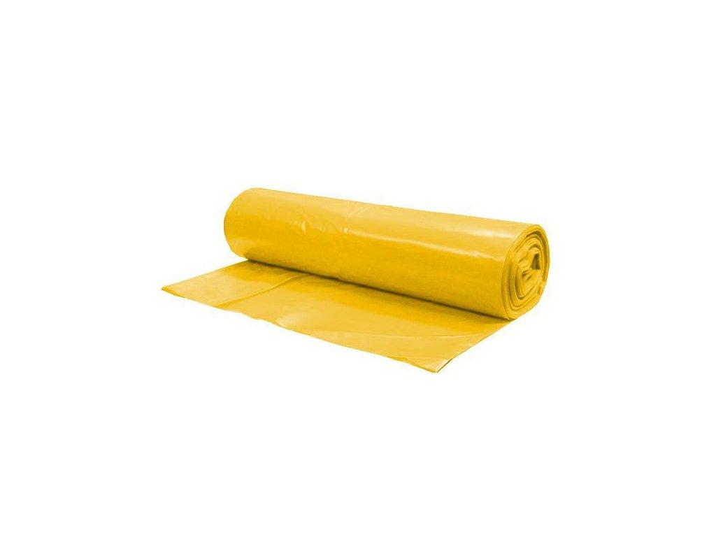 Pytle na odpad LDPE 60 žluté (Velikost/varianta UNI)