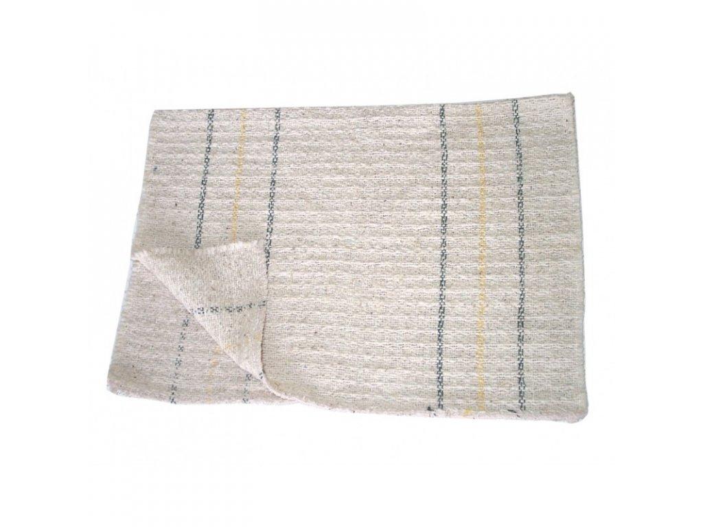 Hadr tkaný bílý 80 x 50 (Velikost/varianta UNI)