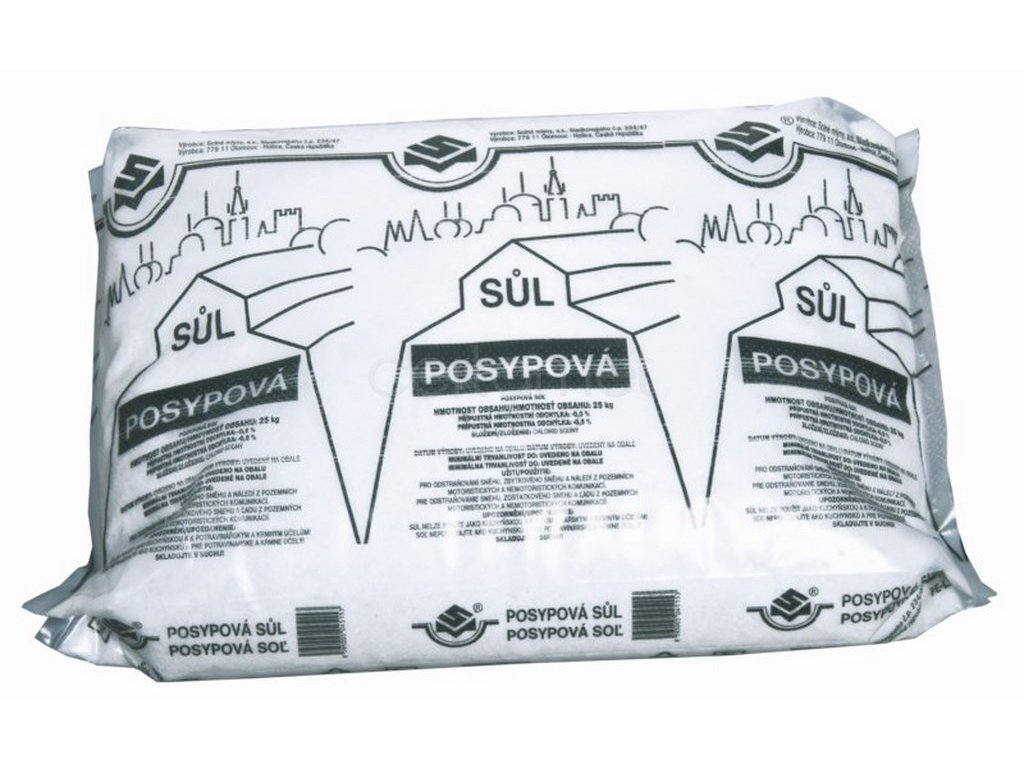 Sůl posypová 25kg (Velikost/varianta UNI)