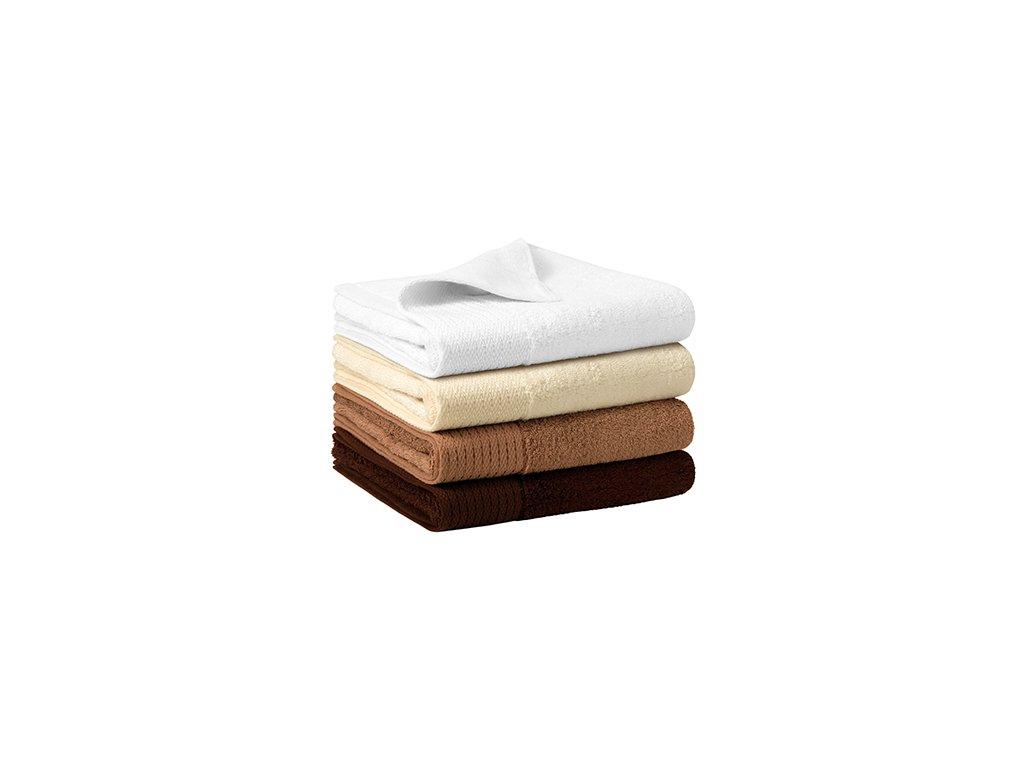 Bamboo Towel ručník unisex bílá