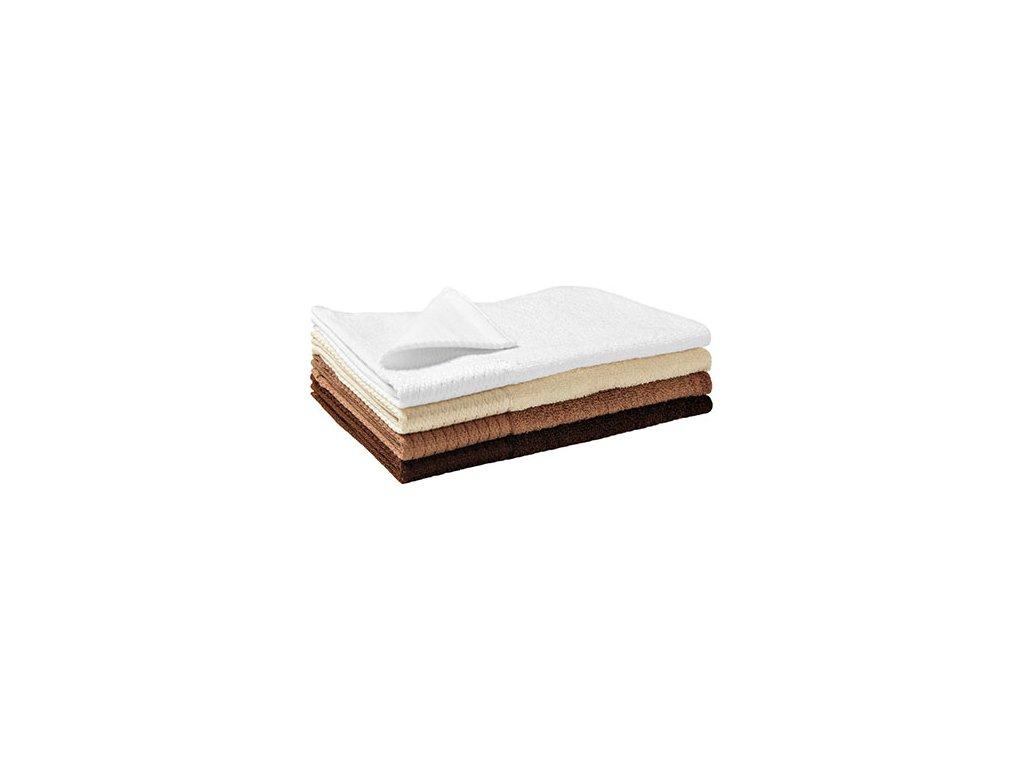 Bamboo Golf Towel malý ručník unisex mandlová