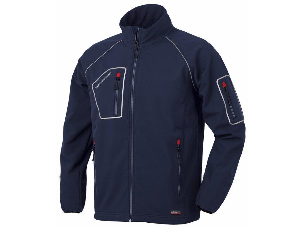 JUST softshellová bunda modrá (Velikost/varianta 3XL)