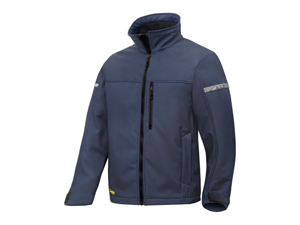 AllroundWork softshellová bunda pánská tm. modrá (Velikost/varianta 3XL)