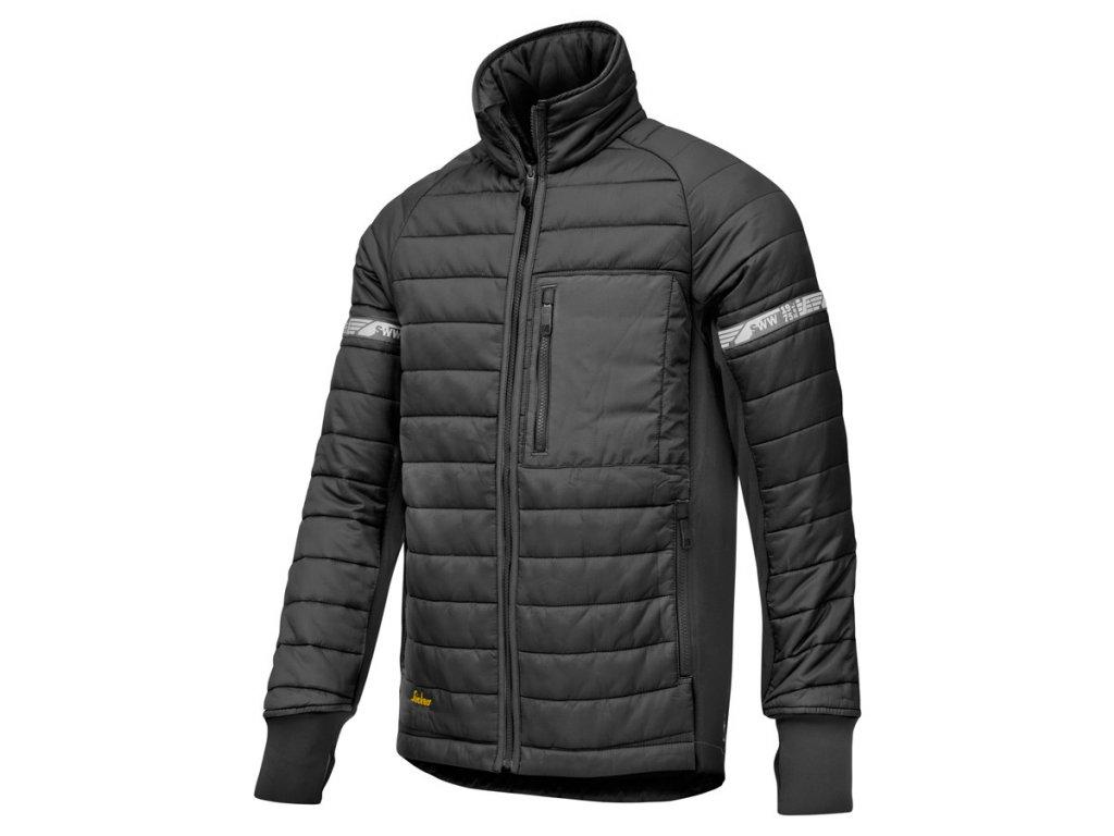 AllroundWork 37.5® prošívaná bunda černá (Velikost/varianta 3XL)