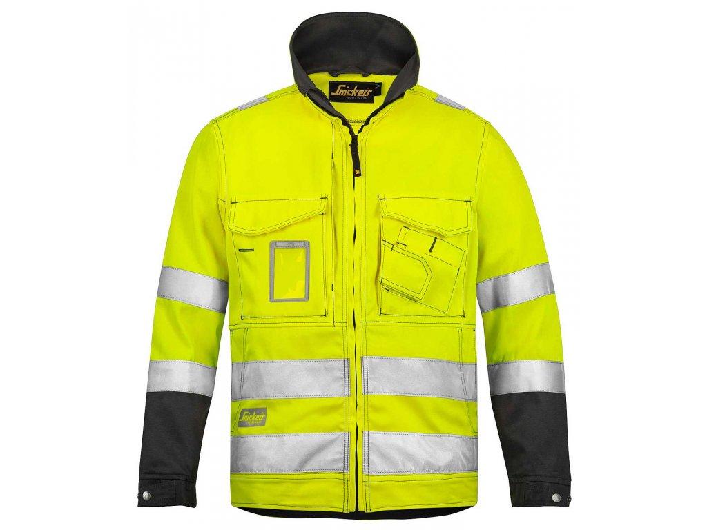 Reflexní bunda žlutá (Velikost/varianta 3XL)