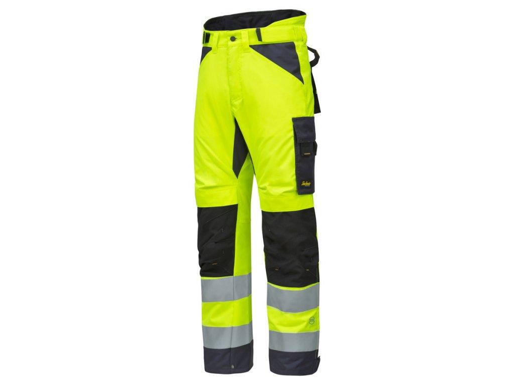 AllroundWork zimní reflexní kalhoty žluté (Velikost/varianta 2XL)