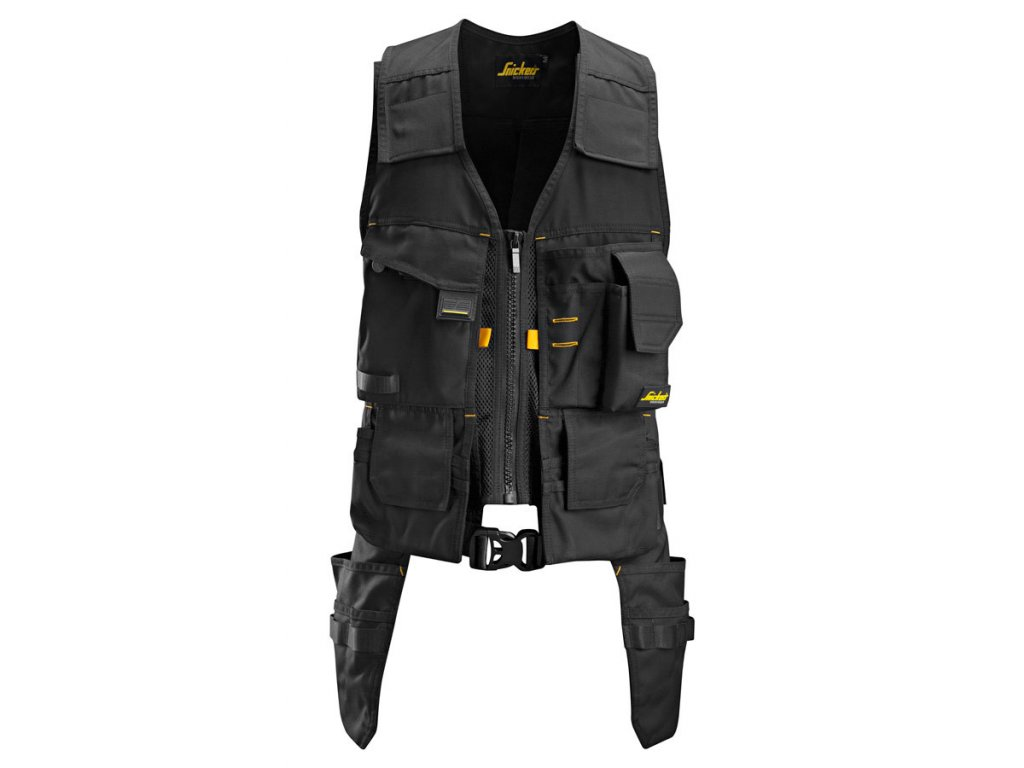 AllroundWork vesta na nářadí černá (Velikost/varianta 3XL)