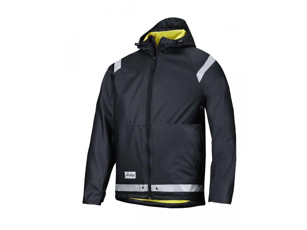 PU bunda do deště černá (Velikost/varianta 3XL)