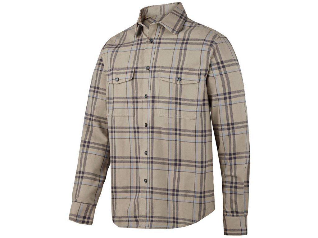 RuffWork flanelová košile béžová (Velikost/varianta 3XL)
