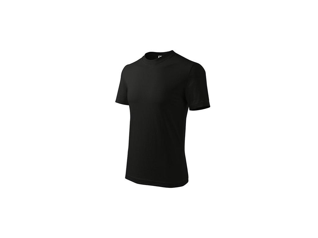 Classic tričko unisex černá