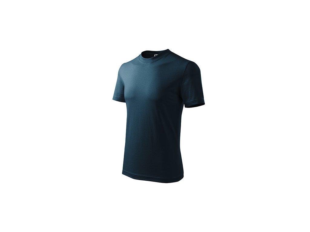 Classic tričko unisex námořní modrá