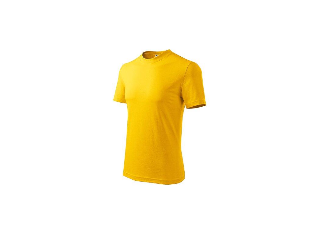 Classic tričko unisex žlutá