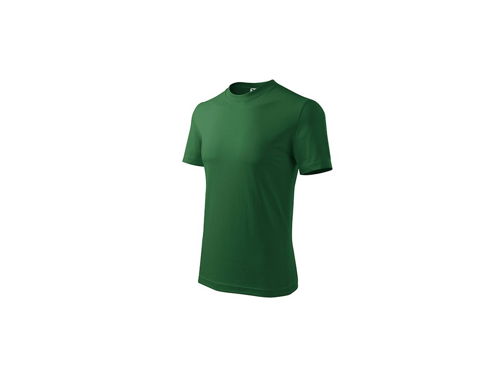 Classic tričko unisex lahvově zelená