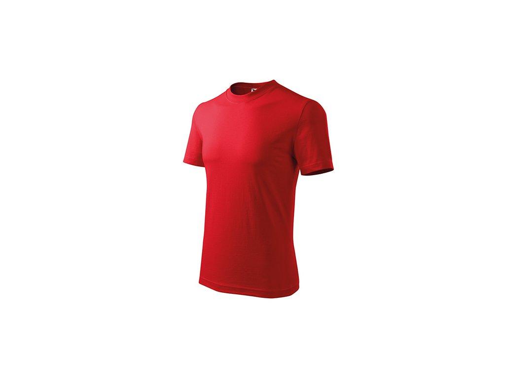 Classic tričko unisex červená