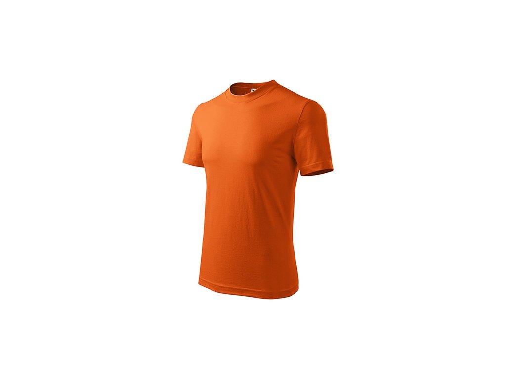 Classic tričko unisex oranžová