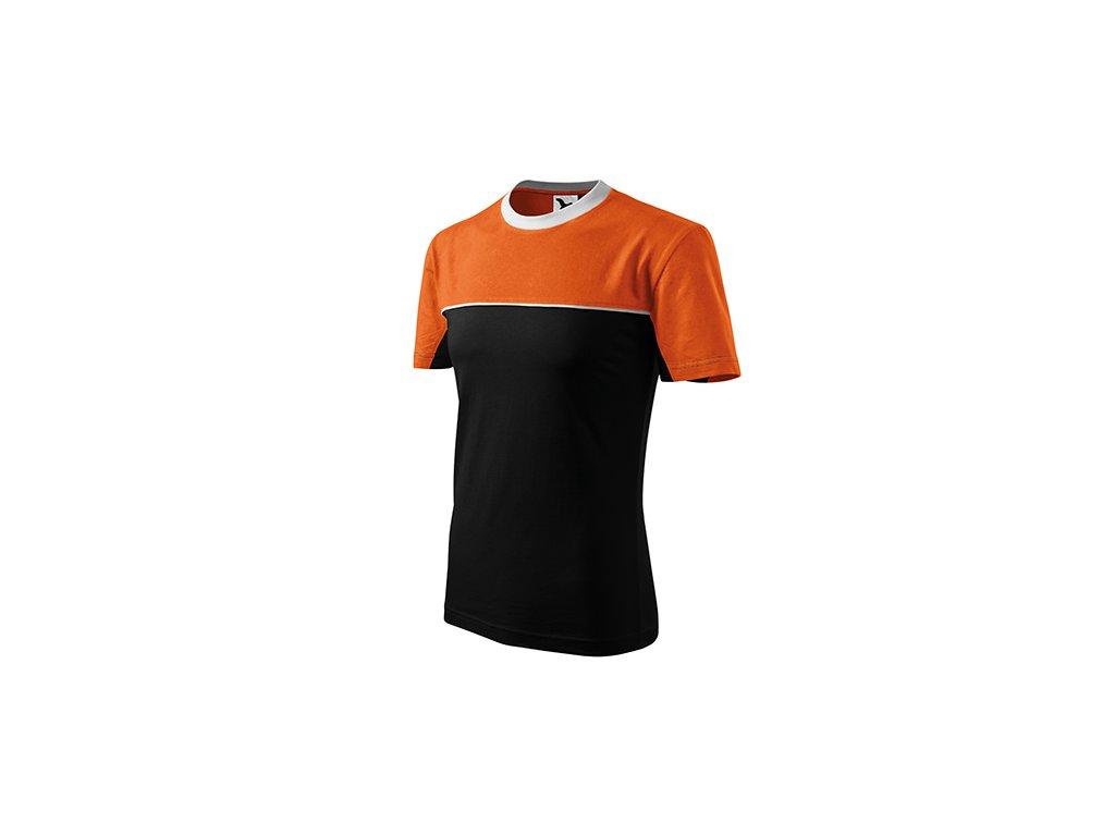 Colormix tričko unisex oranžová