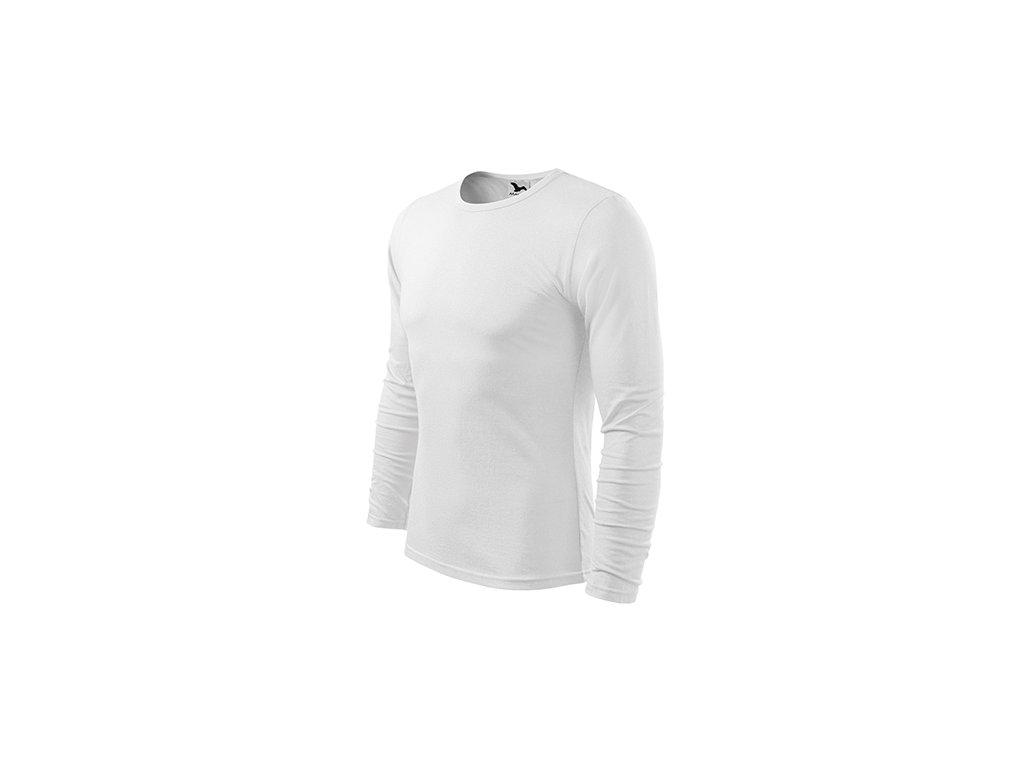 Fit-T LS triko pánské bílá