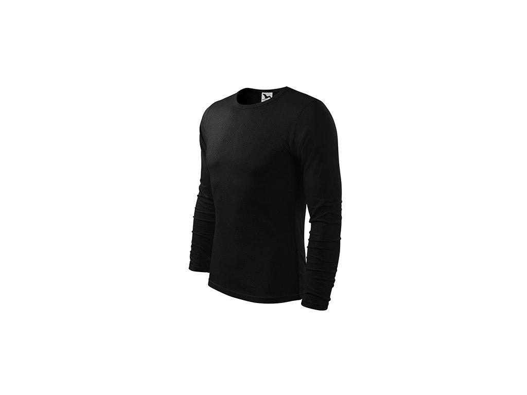 Fit-T LS triko pánské černá