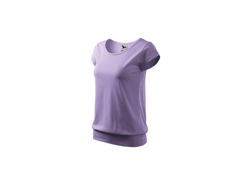 City tričko dámské levandulová