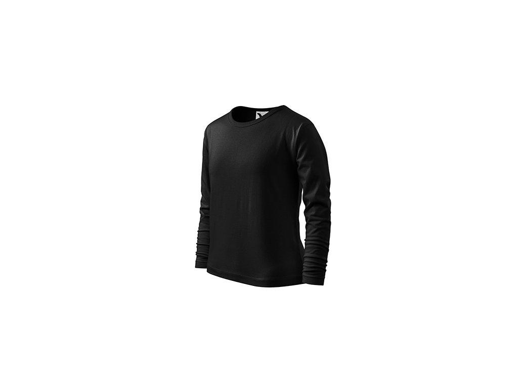 Fit-T LS triko dětské černá