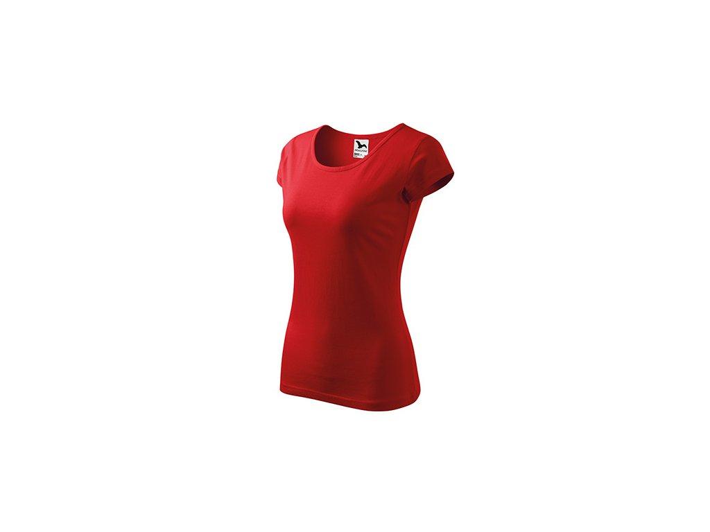 Pure tričko dámské červená